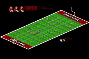 """小游戏 美式橄榄球/移动鼠标移动控制人物移动,要躲避对手,到达""""达阵区""""。..."""
