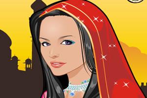 印度女孩造型秀