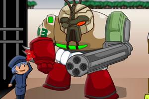 战斗的机器人