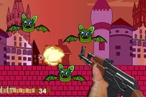 AK47射杀蝙蝠
