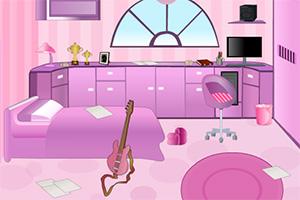 逃离吉他卧室
