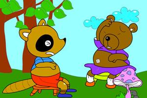天才小画家之小熊