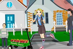 卖饼干的小女孩