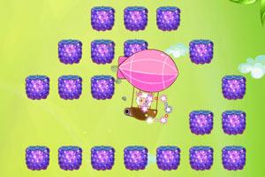 小游戏 水果 热气球/移动键盘方向键↑↓←→键控制热气球移动。...