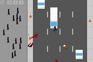 孩子!横穿马路是很危险的!(Jaywalking)