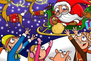 圣诞图画找数字