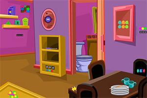 逃出紫色小套房