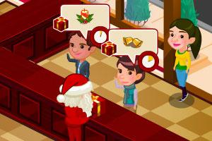 圣诞老人的购物店