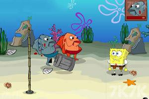 海绵宝宝海底格斗
