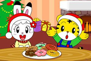 圣诞甜甜圈派对