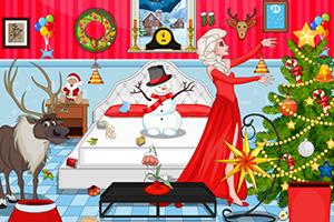 艾尔莎圣诞大清理