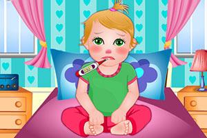 朱丽叶宝贝得流感