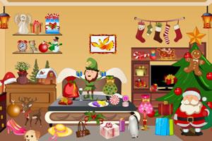 圣诞屋找东西