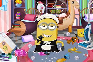 小黄人打扫卫生