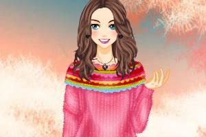 麻花针织毛衣2