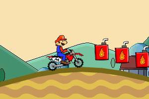 超级玛丽特技摩托