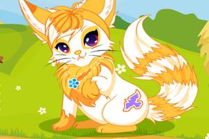 漂亮的小狐狸