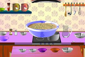 制作火腿土豆汤