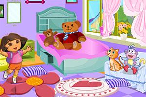 朵拉的卧室装饰