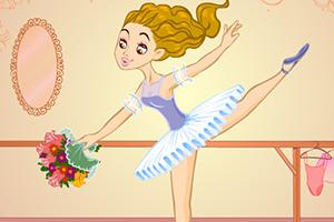 漂亮的芭蕾舞演员