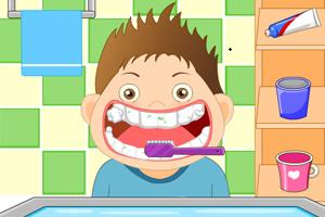 灰灰爱刷牙
