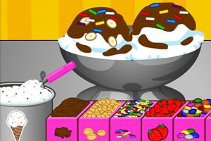 小蒂娜的冰淇淋圣代