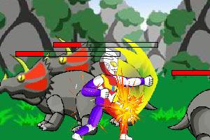 奥特曼大战恐龙