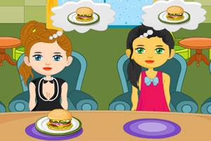 女孩美食小店