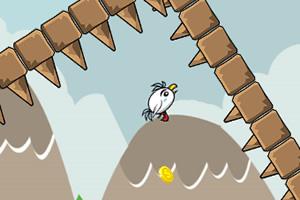 被困的小鸟