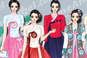 传统女式韩装